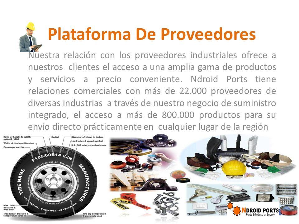 Plataforma De Proveedores