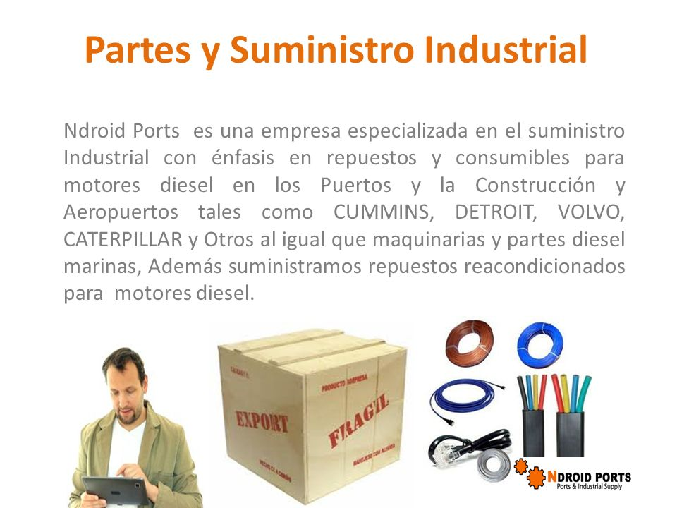 Partes y Suministro Industrial