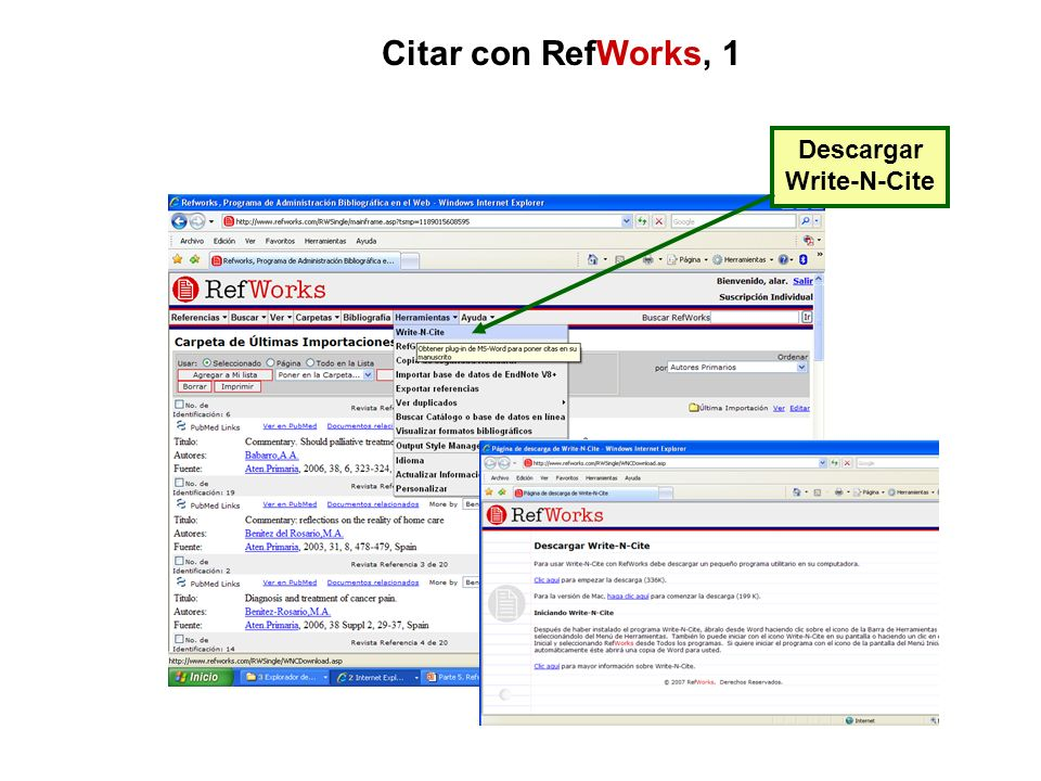 Citar con RefWorks, 1 Descargar Write-N-Cite