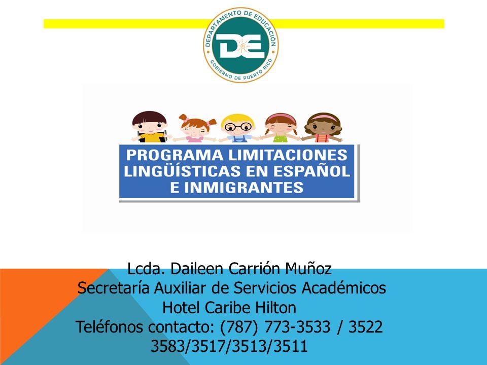 Lcda. Daileen Carrión Muñoz