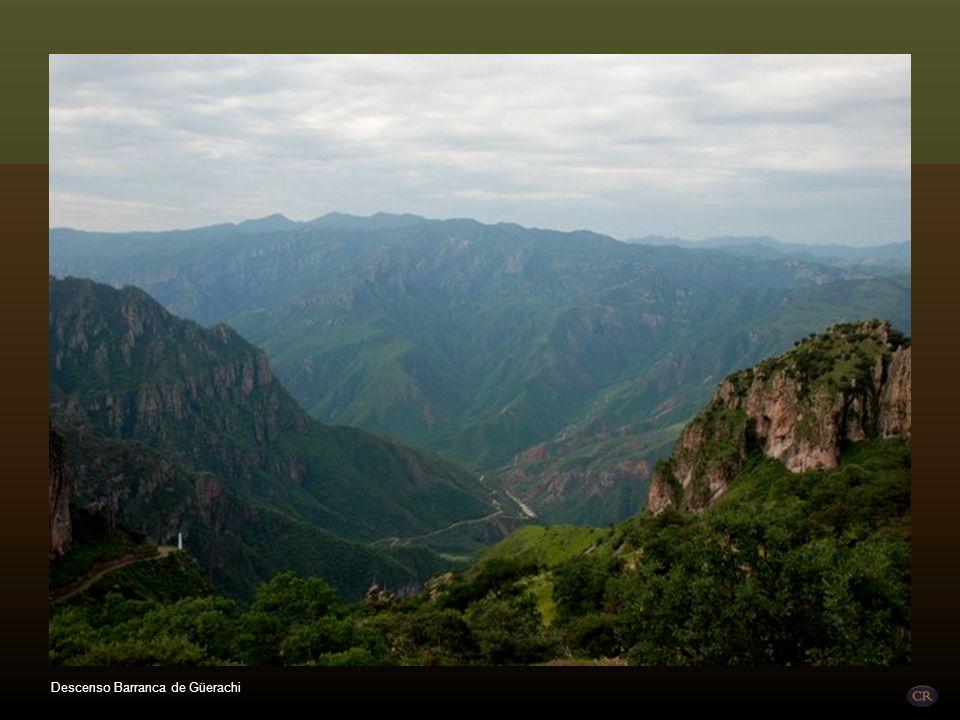 Descenso Barranca de Güerachi