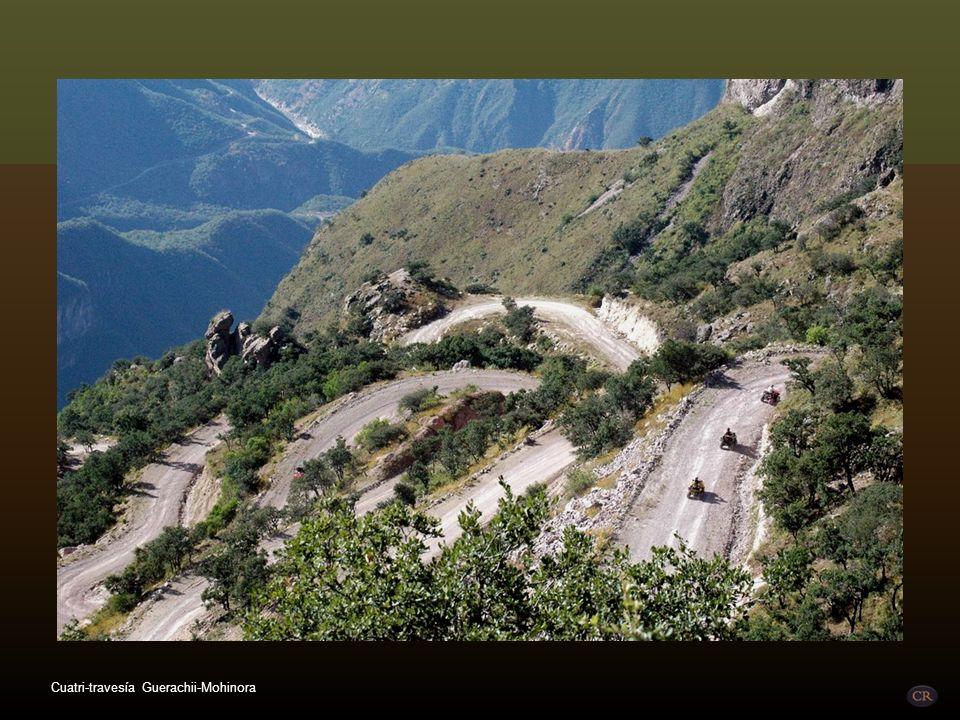 Cuatri-travesía Guerachii-Mohinora
