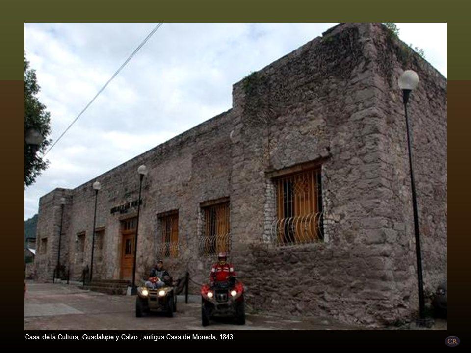 Casa de la Cultura, Guadalupe y Calvo , antigua Casa de Moneda, 1843