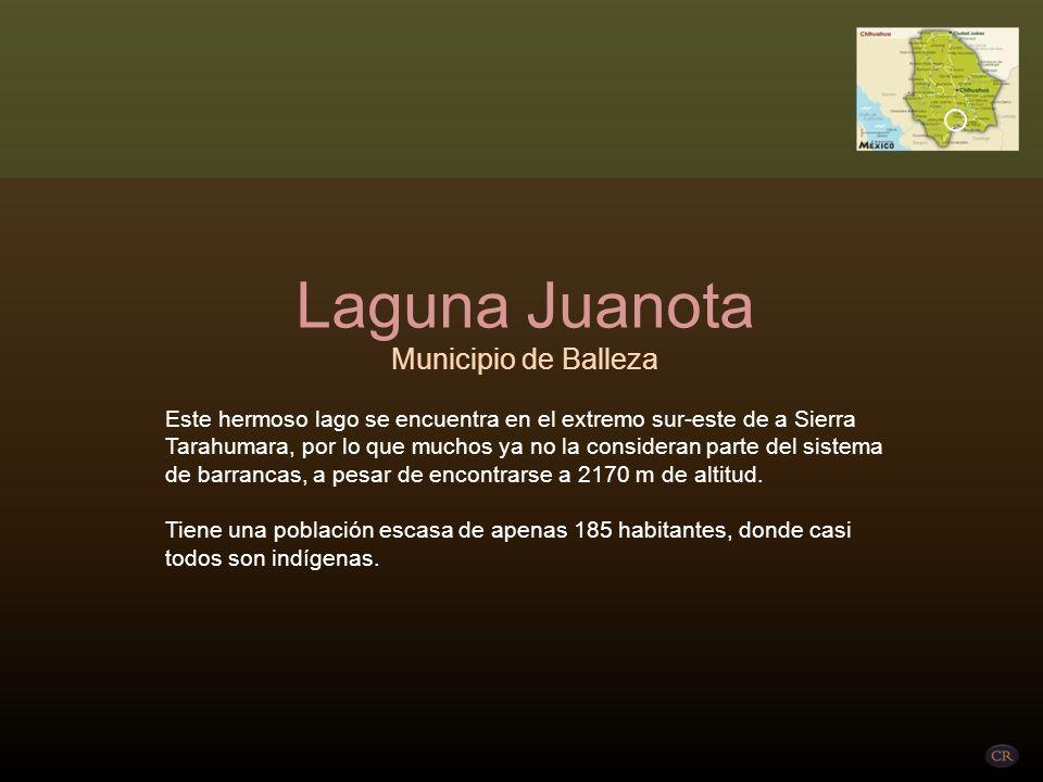 Laguna Juanota Municipio de Balleza