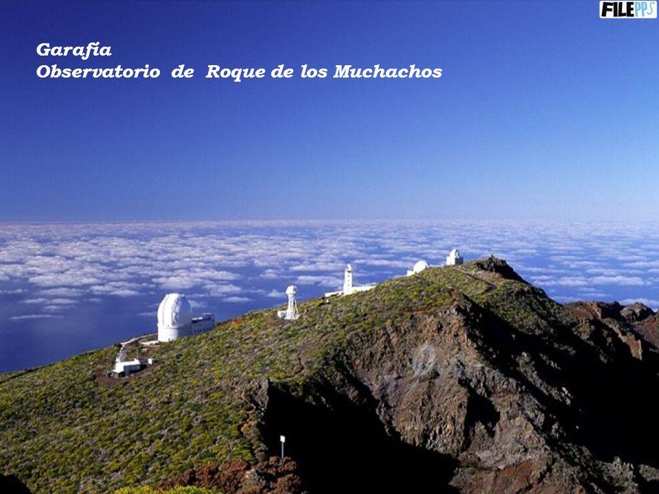 Garafía Observatorio de Roque de los Muchachos