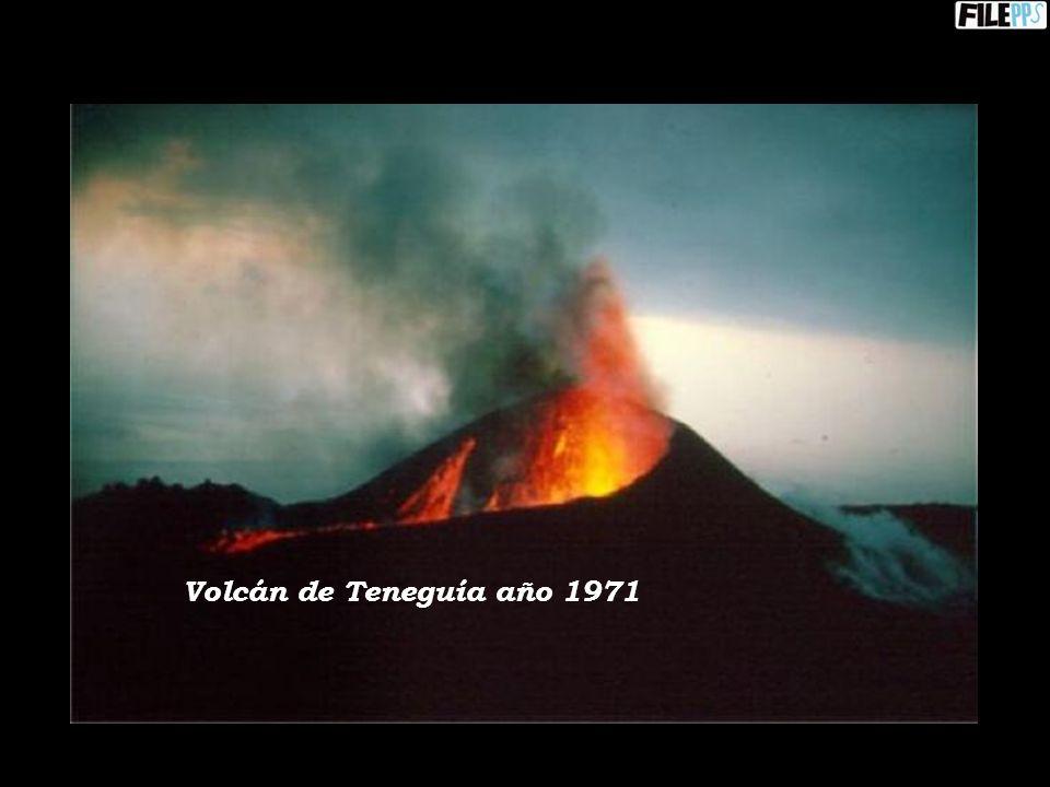 Volcán de Teneguía año 1971