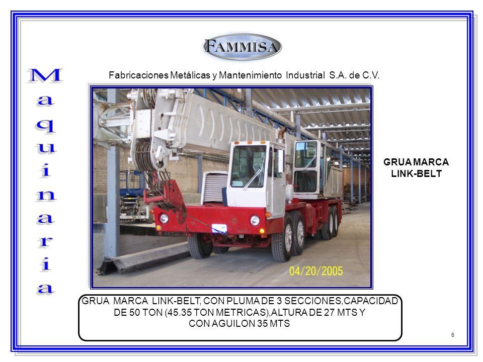 Fabricaciones Metálicas y Mantenimiento Industrial S.A. de C.V.