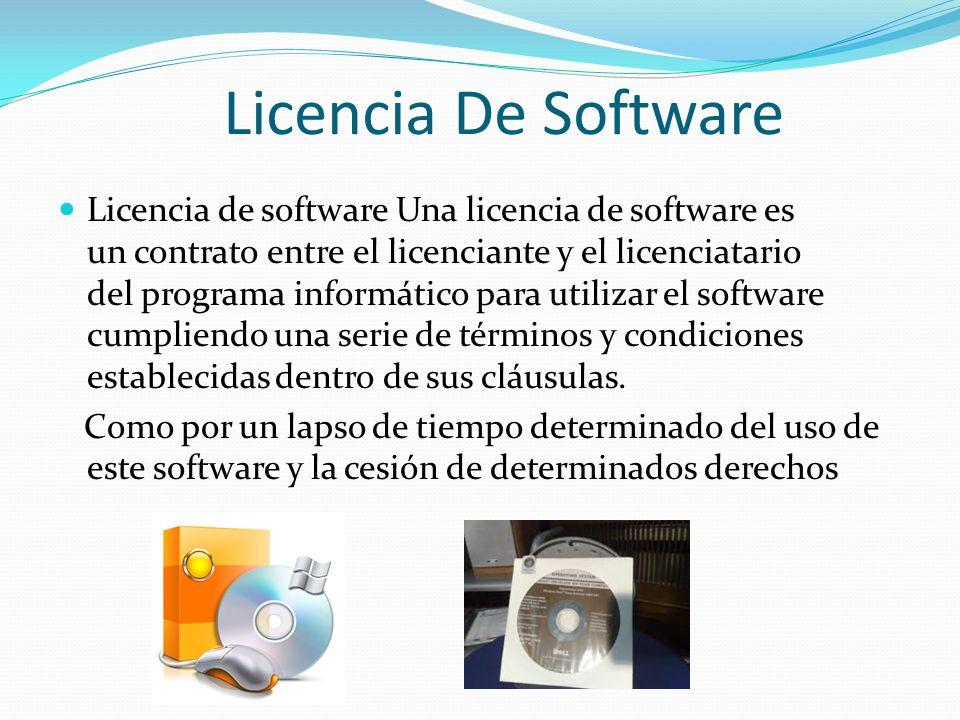 Licencia De Software