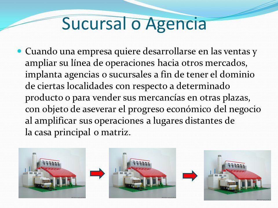 Sucursal agentes franquicia licencia y join venture ppt descargar - Agencias para tener estudiantes en casa ...