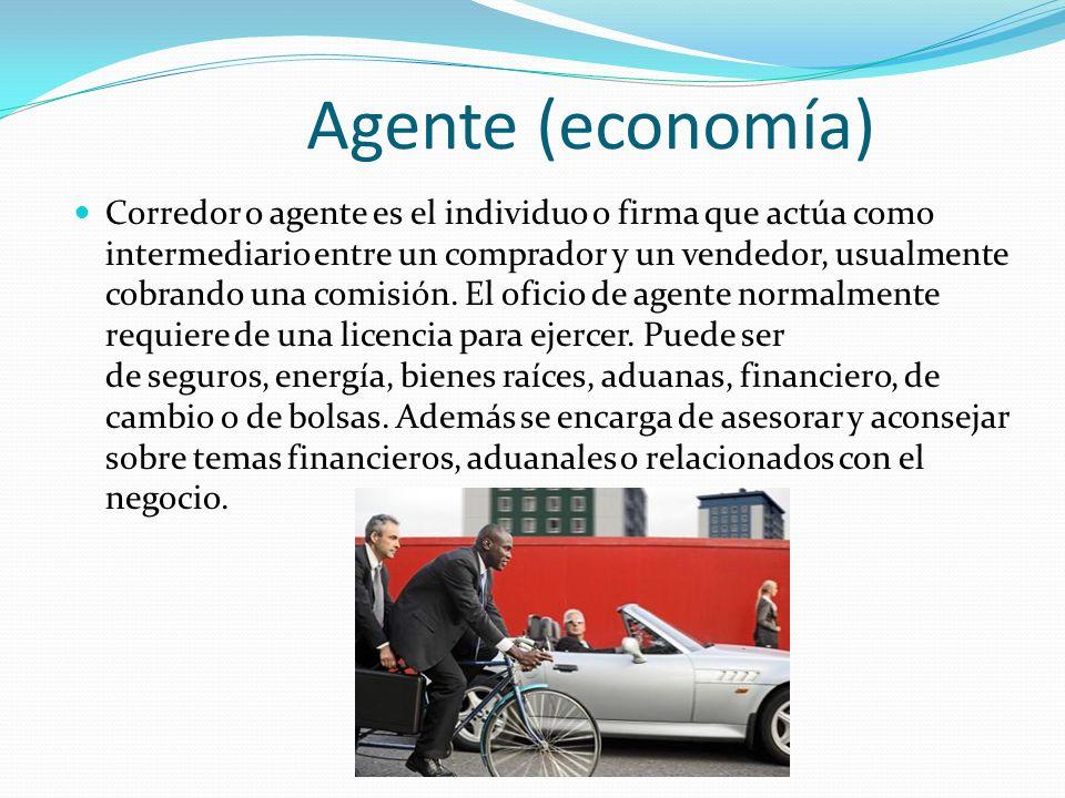 Agente (economía)