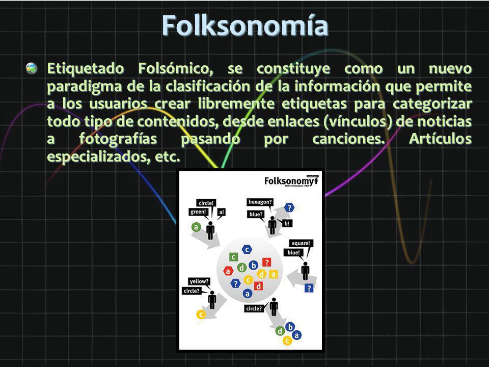 Folksonomía