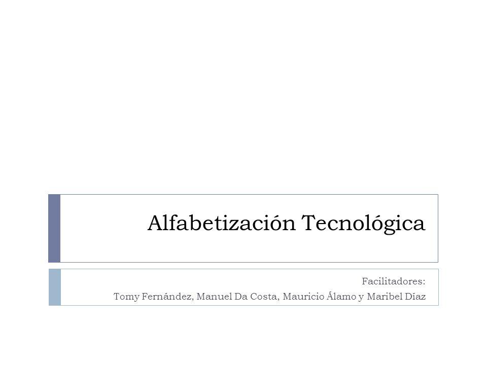 Alfabetización Tecnológica