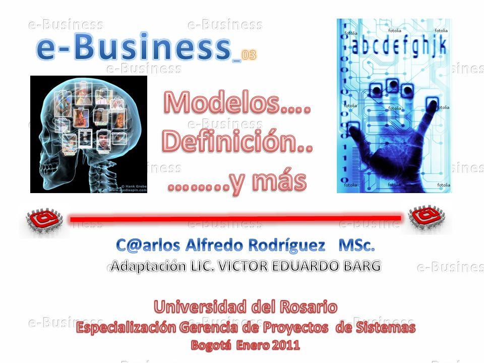 e-Business_03 Modelos…. Definición.. ……..y más
