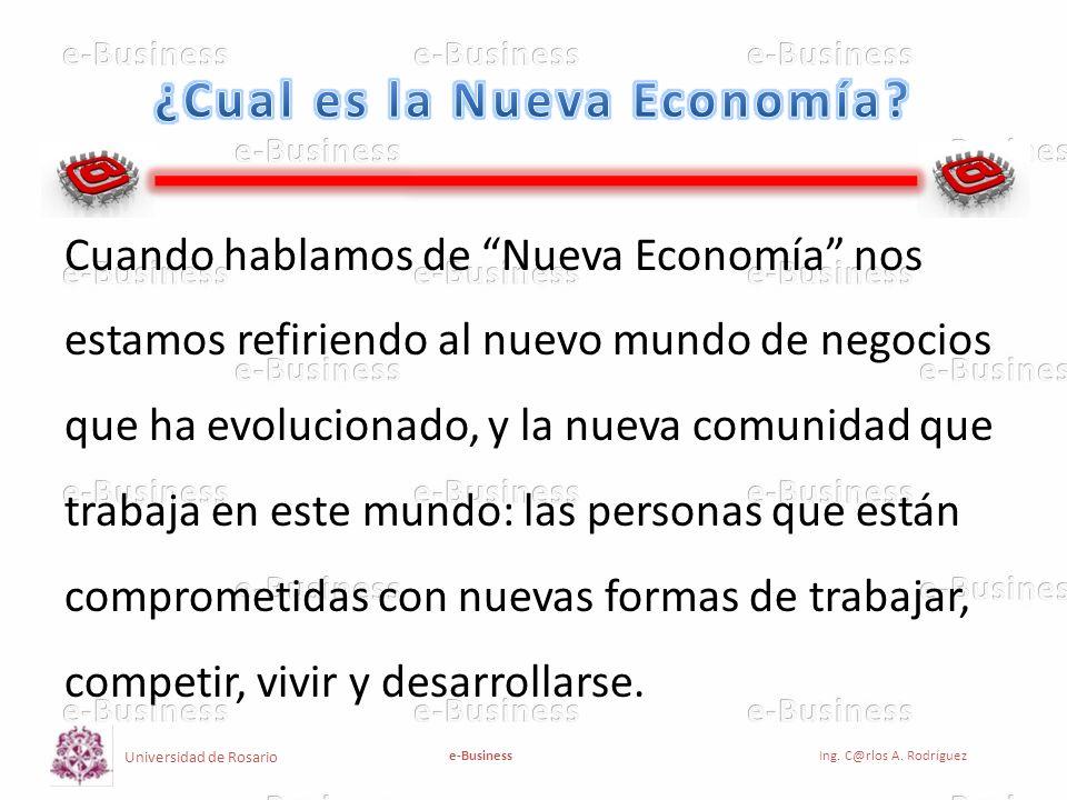 ¿Cual es la Nueva Economía