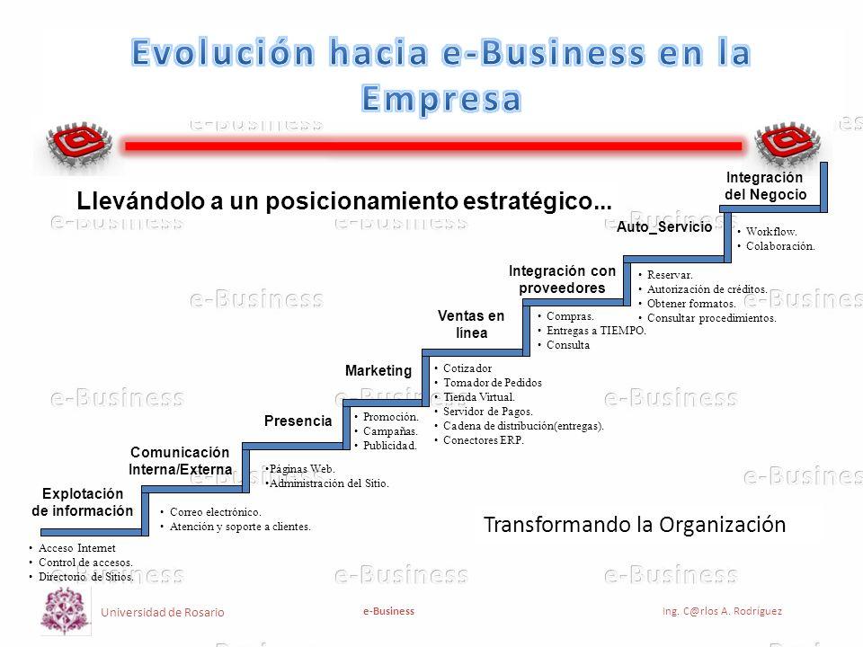 Evolución hacia e-Business en la Empresa