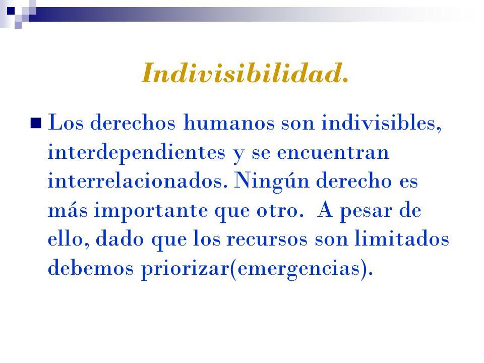 Indivisibilidad.
