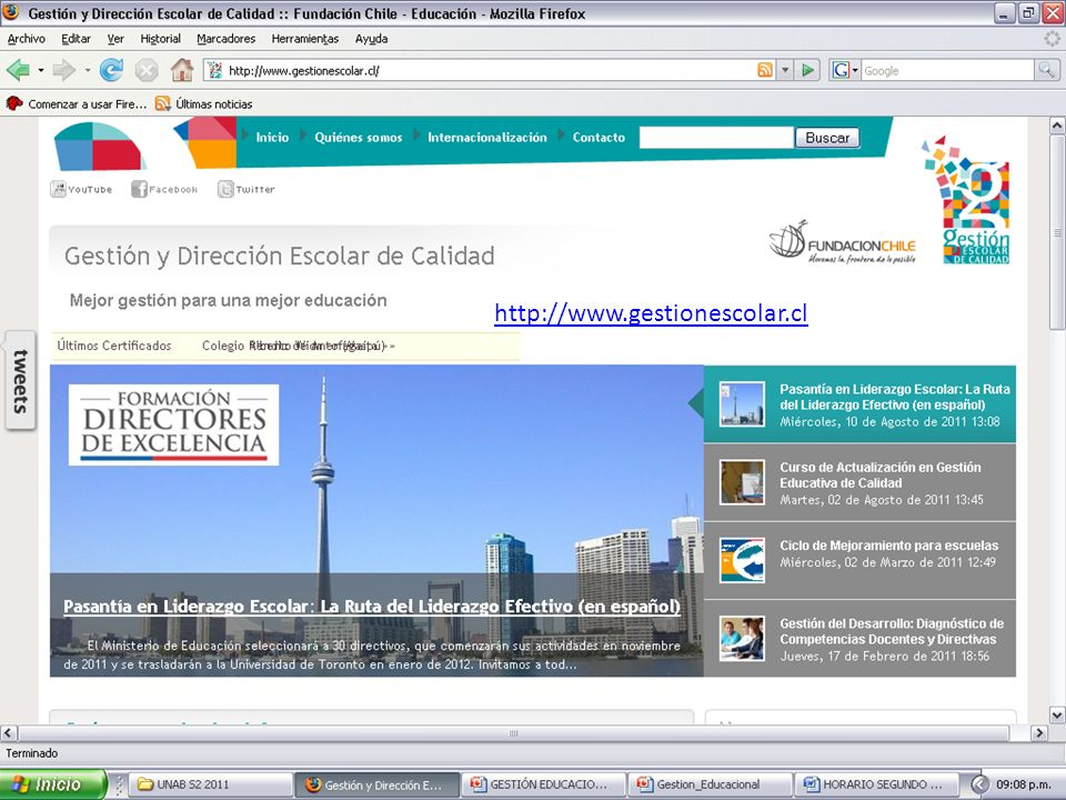 http://www.gestionescolar.cl