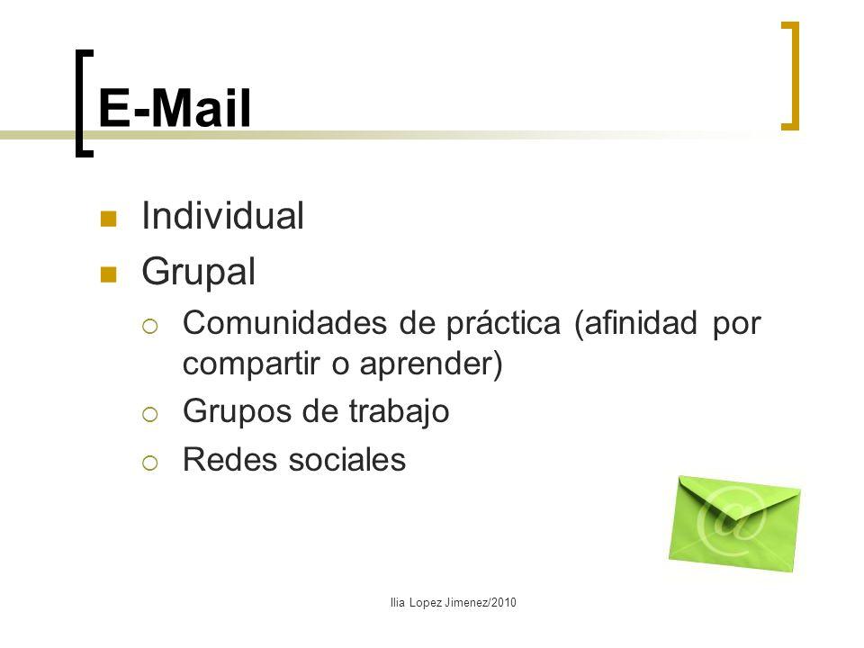 E-Mail Individual Grupal