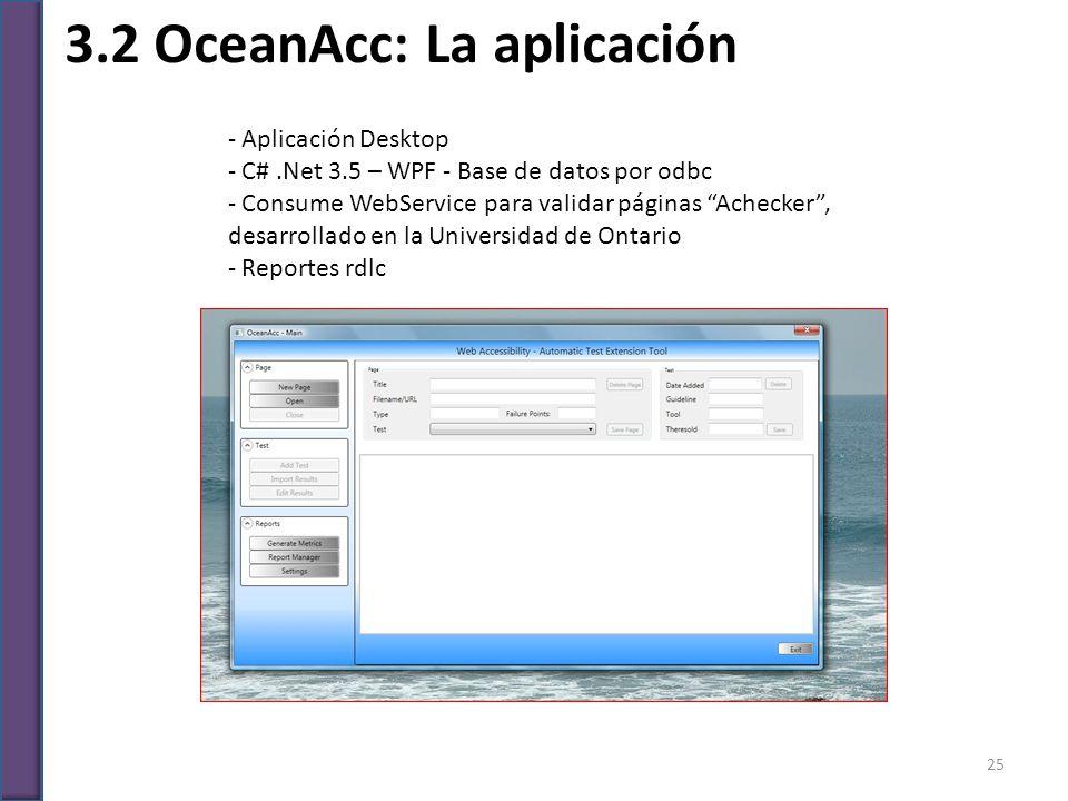 3.2 OceanAcc: La aplicación