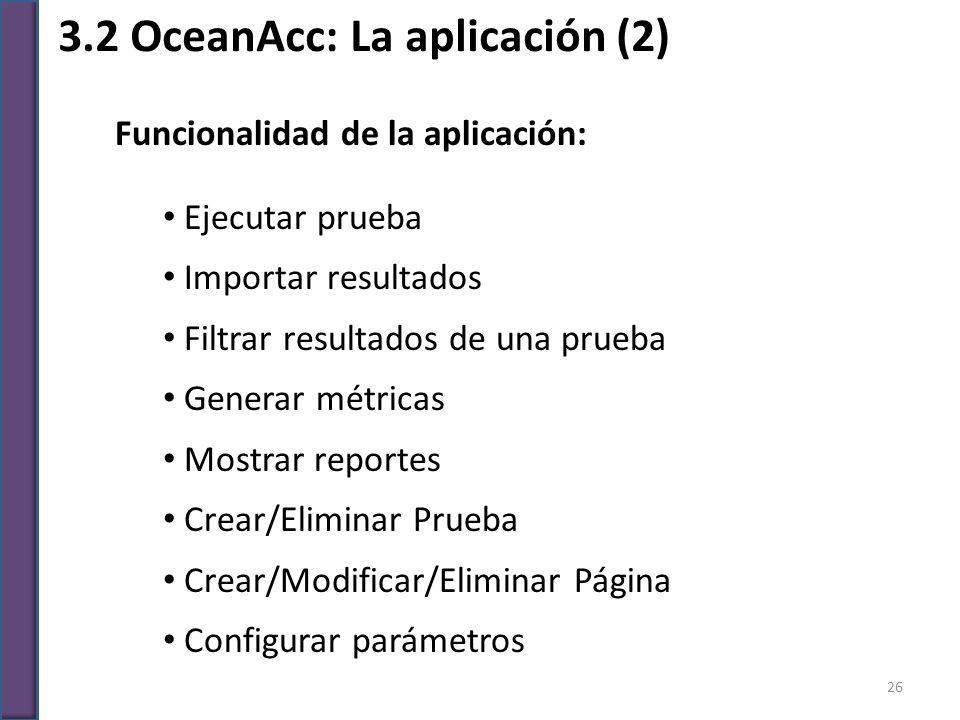 3.2 OceanAcc: La aplicación (2)