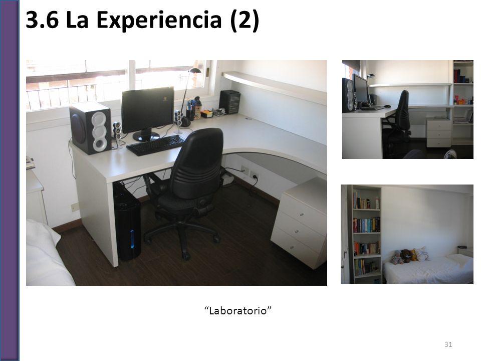 3.6 La Experiencia (2) Laboratorio