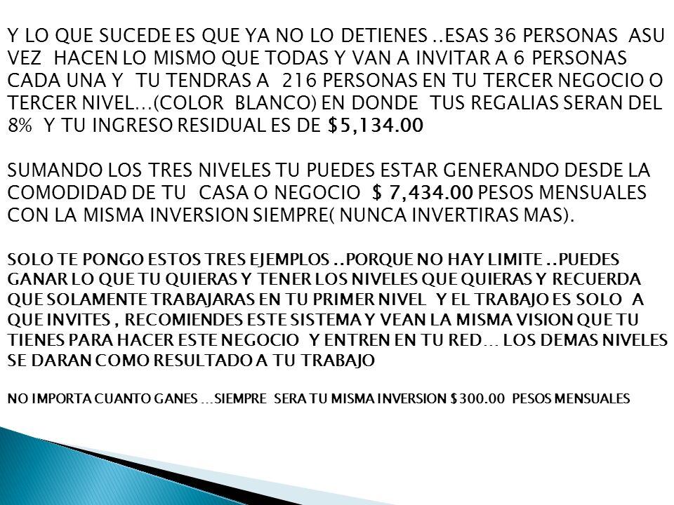 CON LA MISMA INVERSION SIEMPRE( NUNCA INVERTIRAS MAS).