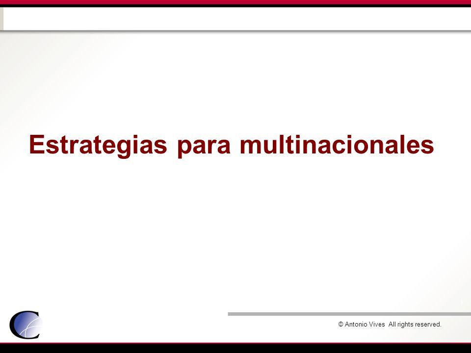 Estrategias para multinacionales