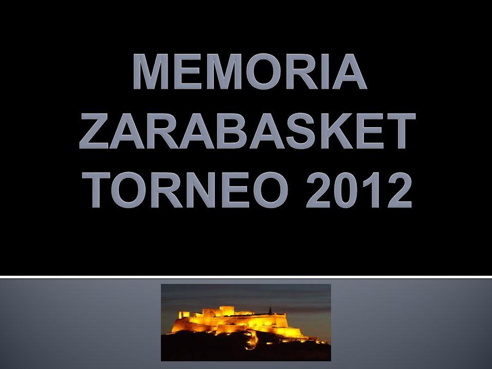 MEMORIA ZARABASKET TORNEO 2012