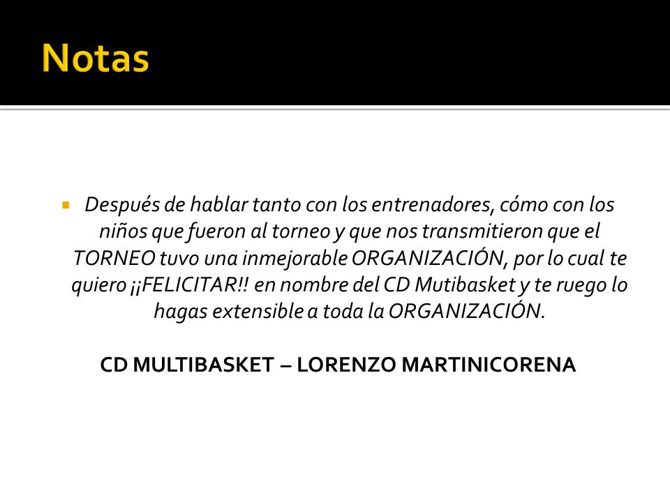 CD MULTIBASKET – LORENZO MARTINICORENA