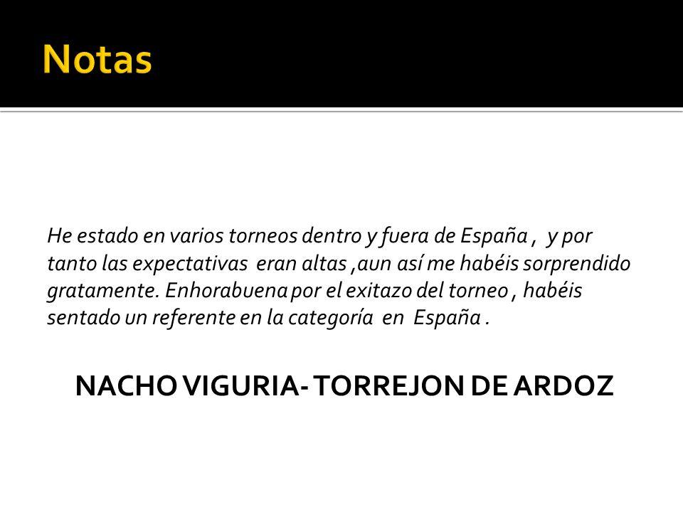 NACHO VIGURIA- TORREJON DE ARDOZ