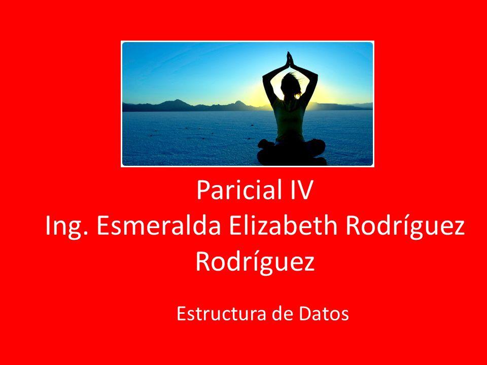 Paricial IV Ing. Esmeralda Elizabeth Rodríguez Rodríguez