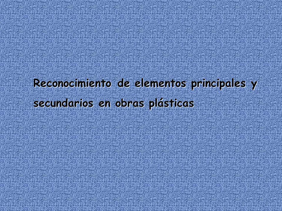 Reconocimiento de elementos principales y