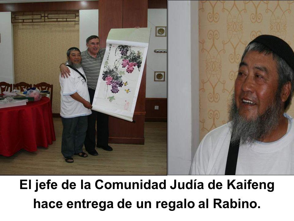 El jefe de la Comunidad Judía de Kaifeng