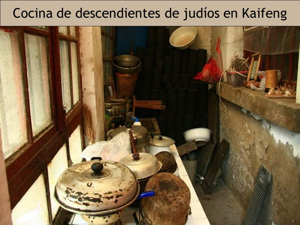 Cocina de descendientes de judíos en Kaifeng