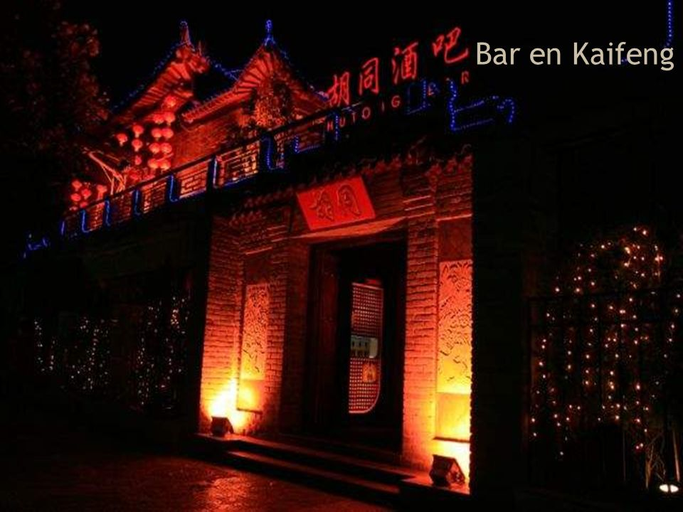 Bar en Kaifeng