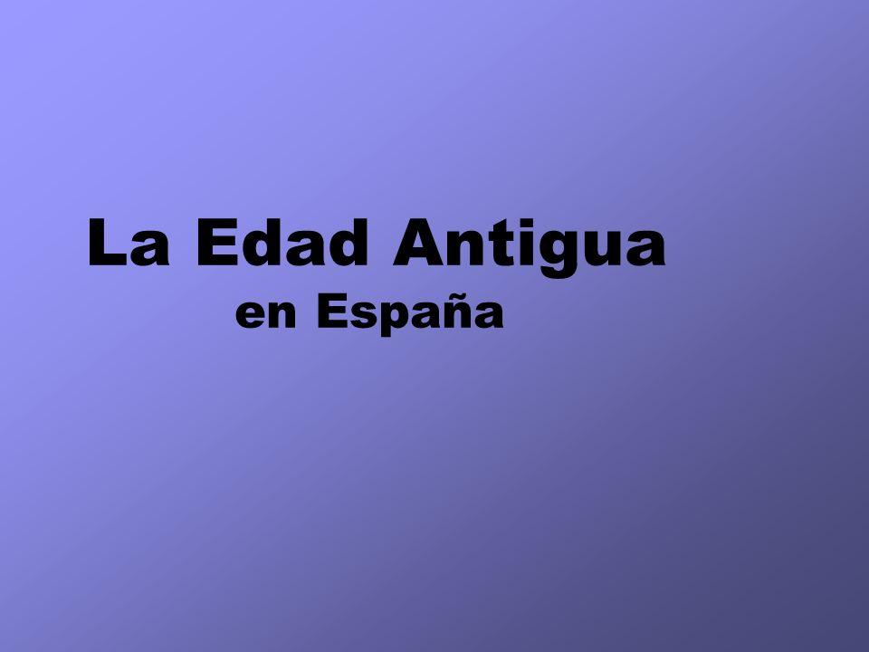 La Edad Antigua en España