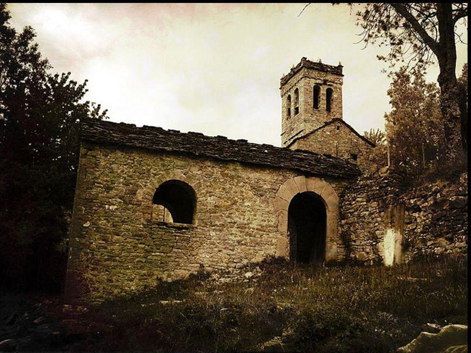 Esconjuradero e iglesia de Asín de Broto, Huesca