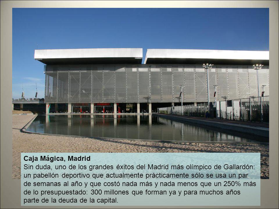 Caja Mágica, Madrid
