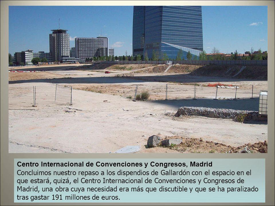 Centro Internacional de Convenciones y Congresos, Madrid