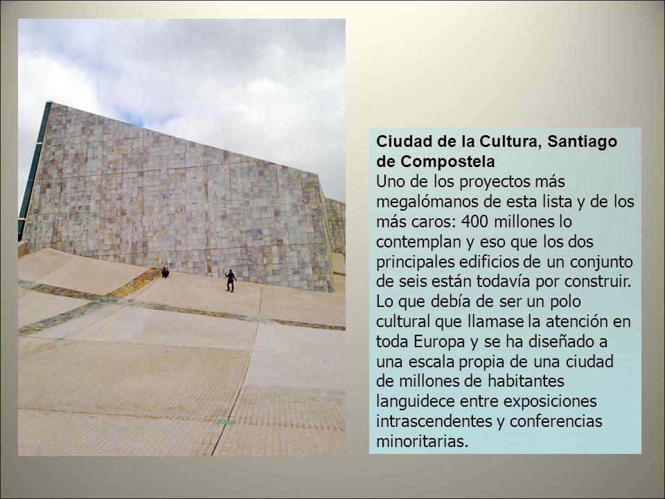 Ciudad de la Cultura, Santiago de Compostela