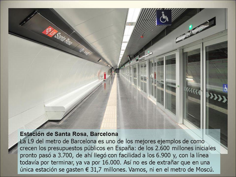 Estación de Santa Rosa, Barcelona