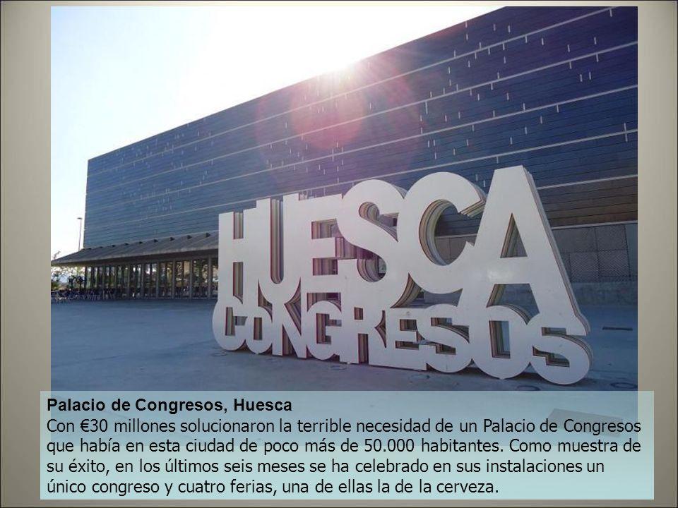 Palacio de Congresos, Huesca