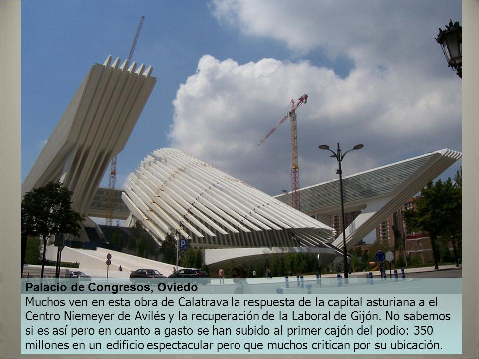 Palacio de Congresos, Oviedo