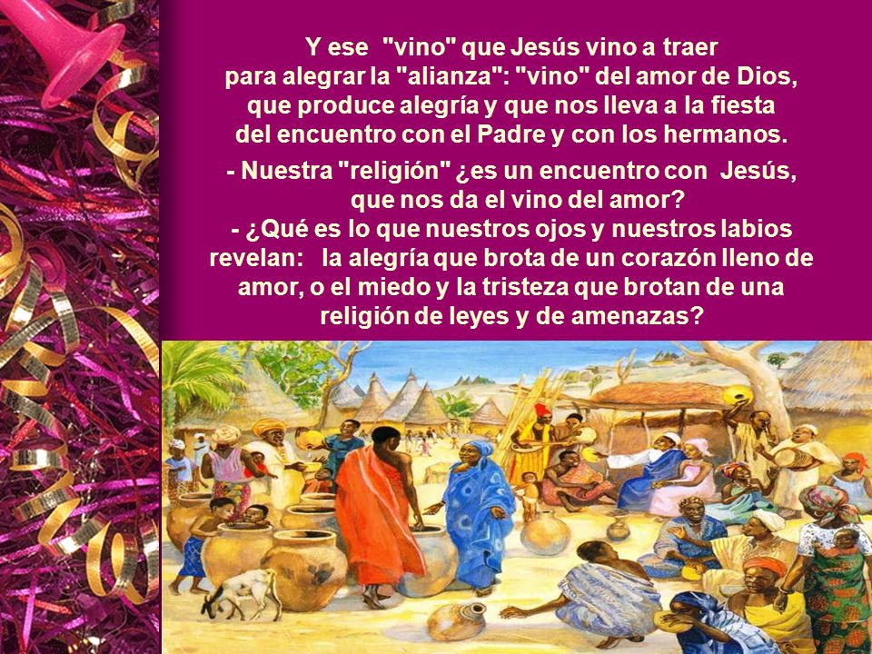 - Nuestra religión ¿es un encuentro con Jesús,