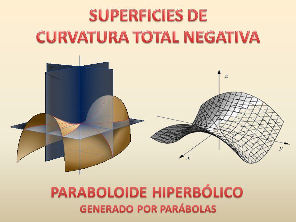 CURVATURA TOTAL NEGATIVA GENERADO POR PARÁBOLAS