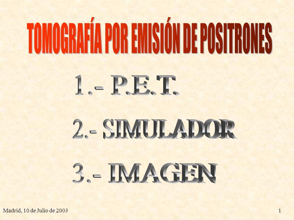 TOMOGRAFÍA POR EMISIÓN DE POSITRONES