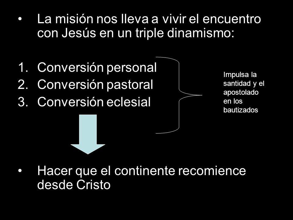 Hacer que el continente recomience desde Cristo