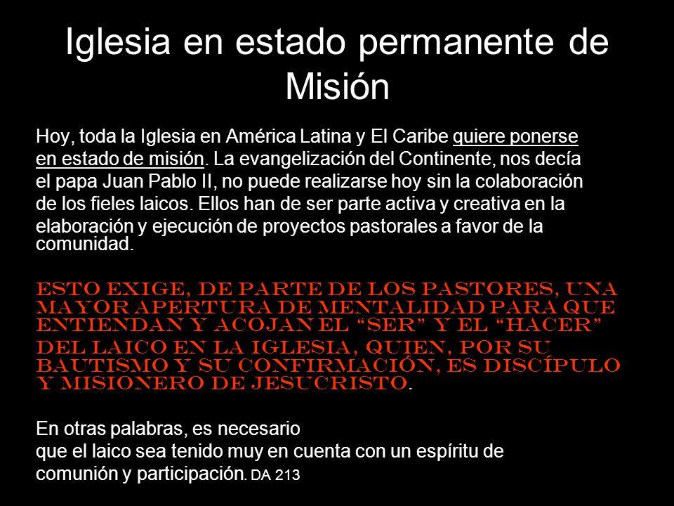 Iglesia en estado permanente de Misión