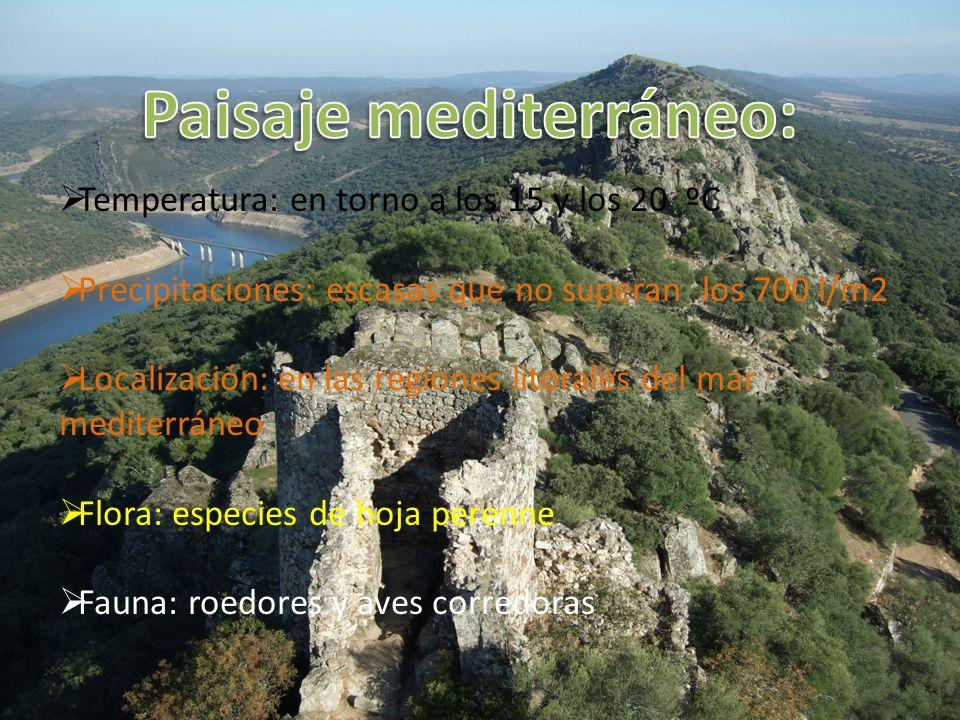 Paisaje mediterráneo: