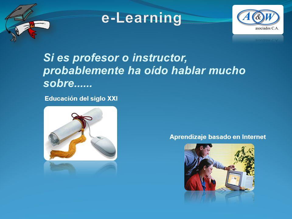 Si es profesor o instructor, probablemente ha oído hablar mucho sobre......